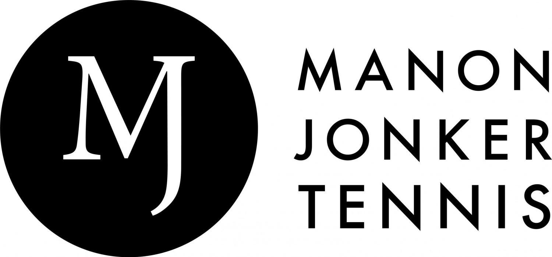 Logo Manon Jonker Tennis zwart 2021